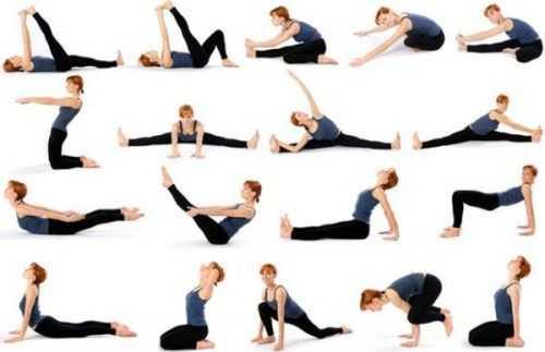 posiciones yoga