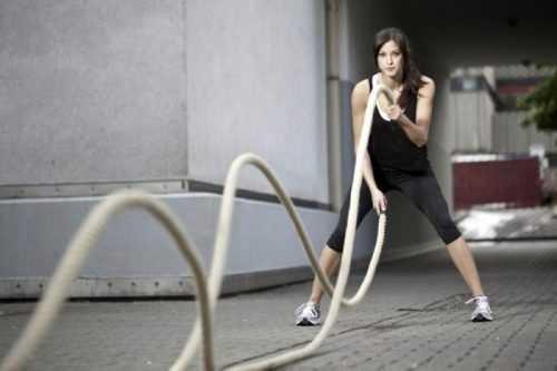 entrenamiento con cuerda